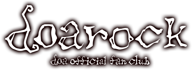 "doa official fan club ""doarock""について"
